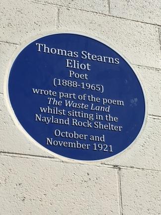 TS Eliot plaque Margate