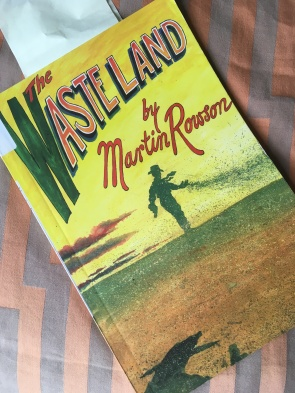 Martin Rowson The Wasteland graphic novel